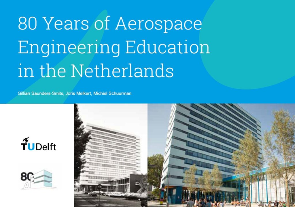 Book cover of 80 Years of Aerospace Engineering Education in the Netherlands