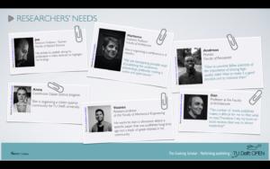 The Evolving Scholar user stories